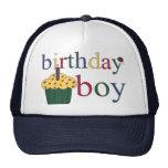 Gorra del muchacho del cumpleaños