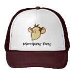 Gorra del muchacho del mono