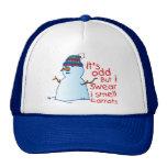 Gorra del muñeco de nieve