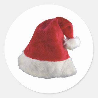 Gorra del navidad de Papá Noel Pegatina