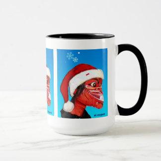 gorra del navidad del desgaste del cepot de las taza