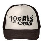 Gorra del negro de los Locals solamente