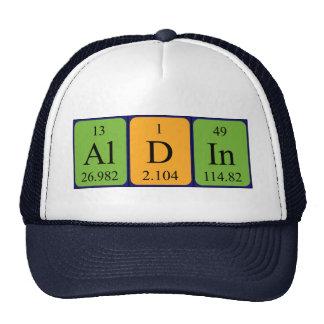 Gorra del nombre de la tabla periódica de Aldin
