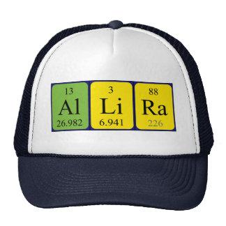 Gorra del nombre de la tabla periódica de Allira