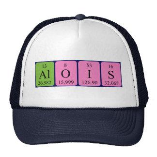 Gorra del nombre de la tabla periódica de Alois