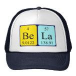 Gorra del nombre de la tabla periódica de Bela