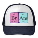 Gorra del nombre de la tabla periódica de Bram
