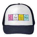 Gorra del nombre de la tabla periódica de Carlino