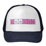 Gorra del nombre de la tabla periódica de Charisse