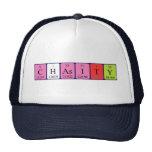 Gorra del nombre de la tabla periódica de Chasity