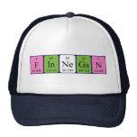 Gorra del nombre de la tabla periódica de Finnegan