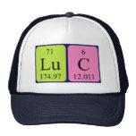 Gorra del nombre de la tabla periódica de Lucas