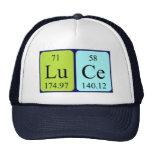 Gorra del nombre de la tabla periódica de Luce