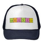 Gorra del nombre de la tabla periódica de Ludovica