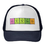 Gorra del nombre de la tabla periódica de Øyvind