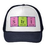 Gorra del nombre de la tabla periódica de Siri
