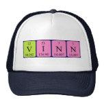 Gorra del nombre de la tabla periódica de Vinn