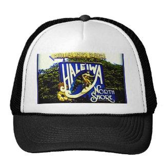 Gorra del norte de Hawaii de la orilla de Haleiwa