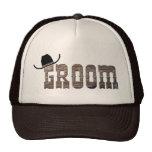 Gorra del novio del vaquero