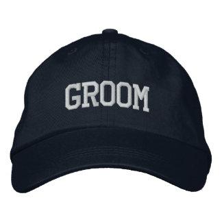 Gorra del novio gorras de beisbol bordadas