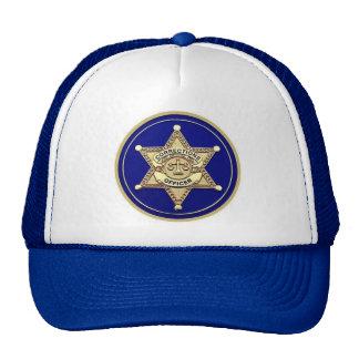 Gorra del oficial de correcciones