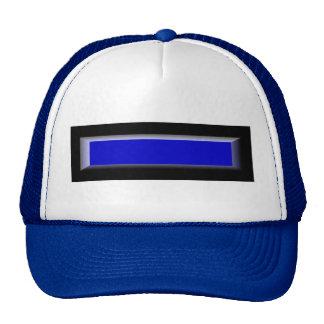 Gorra del oficial de policía de la aplicación de l