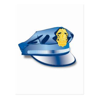 Gorra del oficial de policía postales