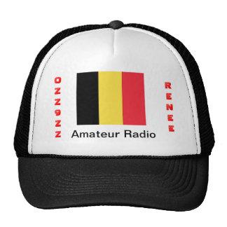 Gorra del operador de equipo de radio-aficionado d