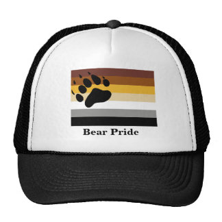 Gorra del orgullo del oso