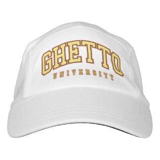 Gorra del oro de la universidad del ghetto gorras de alto rendimiento