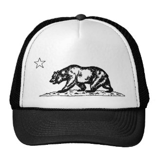 Gorra del oso de California del vintage