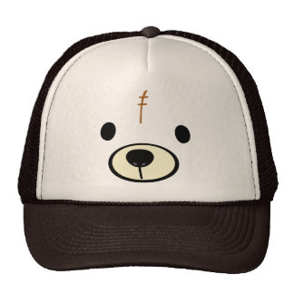 Gorra del oso de peluche