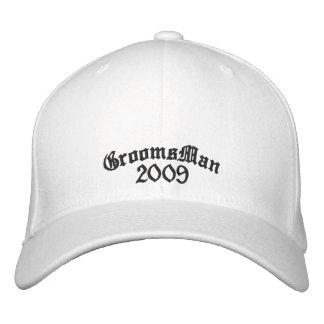 Gorra del padrino de boda - gorras de beisbol bordadas