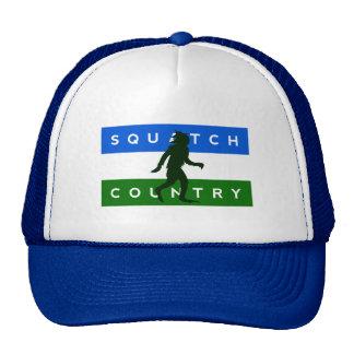 "Gorra del país de Cascadia ""Squatch"""