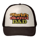 Gorra del papá de Okayest del mundo