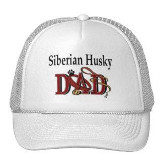 Gorra del papá del husky siberiano