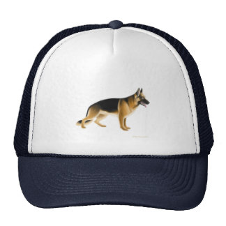 Gorra del pastor alemán K9