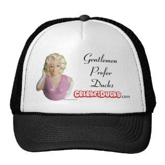 Gorra del pato de la celebridad de Marilyn Monroe
