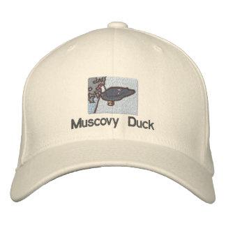Gorra del pato de Muscovy Gorros Bordados