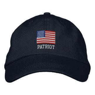 Gorra del patriota - gran gorra de la bandera de A Gorra Bordada