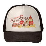 Gorra del perrito caliente (marrón/moreno)
