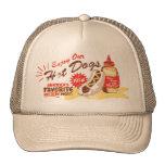 Gorra del perrito caliente (moreno)