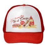 Gorra del perrito caliente (rojo)