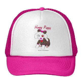 Gorra del perrito de la miel