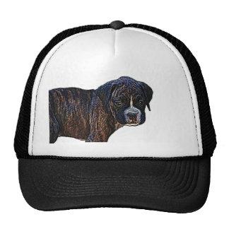 Gorra del perrito del boxeador