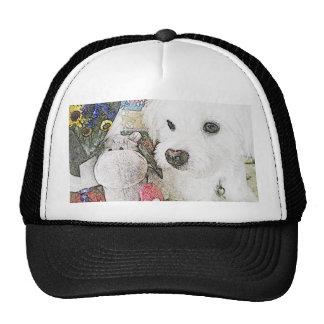 Gorra del perro y del hipopótamo