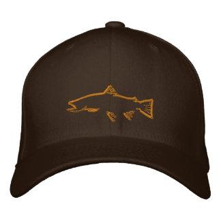 Gorra del perseguidor de la trucha gorras bordadas