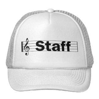 Gorra del personal