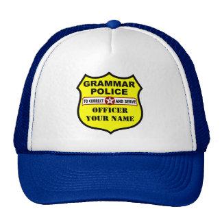 Gorra del personalizable de la policía de la gramá