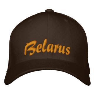 Gorra del personalizado de Bielorrusia Gorros Bordados